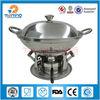 new design stainless steel nonstick fondue cooker set