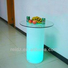 IP65 waterproof led night cub table