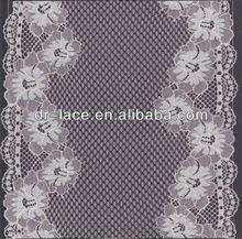 soft good looking jacquard net folded yarns lingerie lace