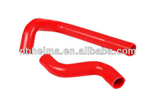 3-PLY SILICONE RADIATOR HOSE HIGH TEMP PIPING MAZDA RX-7 FD3S Color RED