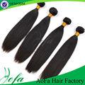 Charme noir grade aaaaa 100% remy vierges cheveux brésiliens droite