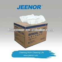 X60 spunlace non-woven cleaning wipers/wipe fiber cloth for Industrial using