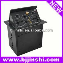 Video,VGA,Audio,network,phone Connection Box