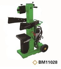 12T Electric Hydraulic Vertical Wood Log Cutter and Splitter BM11028