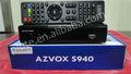 2012 Nagra 3 HD doble sintonizador decodificador Azamerica S930A