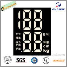 portable 5 digital led display/ electronic balance/ 7 segment 5 digit led display used for scale