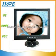 cheap price 12.1 inch lcd monitor AV/TV/VGA option