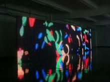 Transparent P10 LED Curtain Display, 16 bit Grey Level
