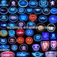 TOP sales-newest design led car door logo laser projector light