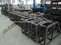 Estructura de acero de cobertizos y de almacenamiento