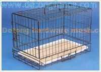 "48"" Folding Pet Crate Kennel Wire Cage for Dogs /Cats or Rabbits"
