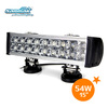 "15""54w 4x4 Led Car Light,Led Light bar Off road,auto 12v led light bar SM6023-54"