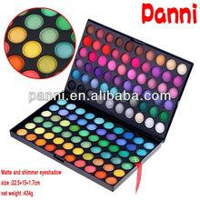Popular !!! 120 color shimmer and matte eyeshadow kit -version 1