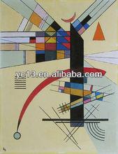 Kandinsky reproduction handmade modern oil painting
