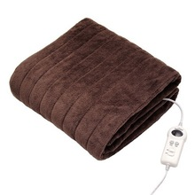 Electric Blanket throw with detachable controller