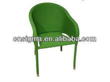 2014 New Design outdoor rattan modern salon chair