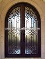 grade de aço design porta de entrada principal da grade de ferro da porta janela de design
