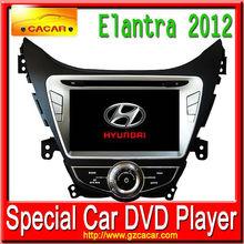 Special car dvd For Hyundai Elantra 2012 with DVD,USB,SD,Bluetooth