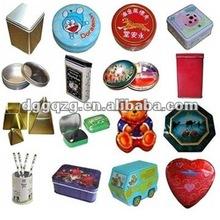 rectangular,round, oval and irregular shape printed metal tin can
