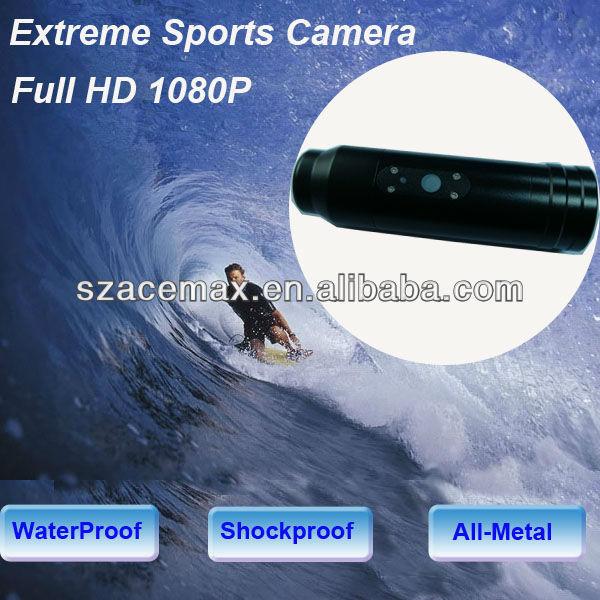 20m étanche 1080p full hd mini caméra de plongée en apnée balle. style pour vtt moto parachutisme, sports extrêmes