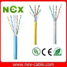 UTP/FTP/SFTP lan cable bulk cat5e cat6 twisted cable
