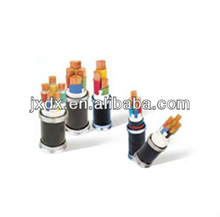 PVC insulated heavy steel wire amoured PVC insulated mining electrical cable