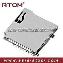 Micro SD card socket with push push type