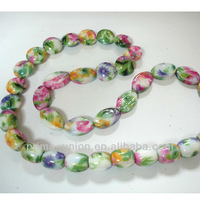 Colorful Customized Printed Loose Beads for Bracelet