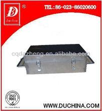 Hot box for temperature recorder instrument