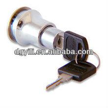 Evergood brand 419 Cabinet Sliding Glass Door push lock with key