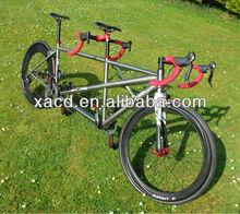 Gr9 titanium tandem road bike frame titanium mtb bike frame