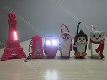 Promotion 30ml hand sanitizer bottle 3D animal silicone case