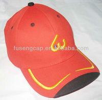 beautiful red trucker cap hat cycling baseball cap hat