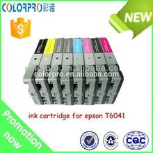 Wholesale compatible T6041 ink cartridge for epson pro 7880C 9880C inkjet plotter