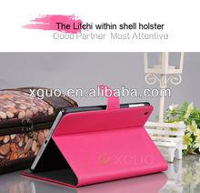 2013 new product Litchi PU leather luxury case for ipad mini