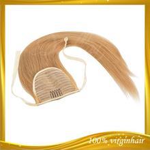 HOT!!! high quality blonde brazilian human hair pony tails