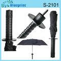 Samouraï japonais sword télescopique. mini parapluie
