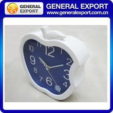 plastic apple shape table electric alarm clock