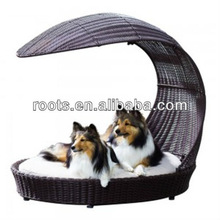 wicker poly rattan dog/cat leisure bed furniture
