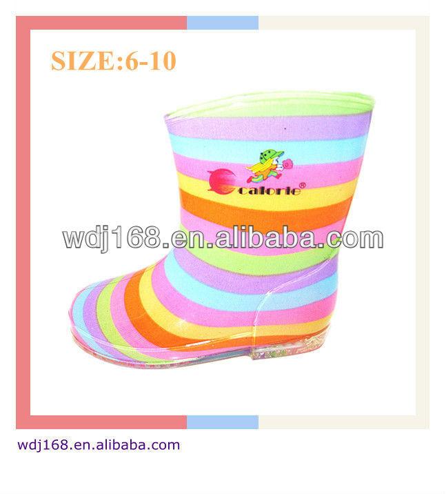 pvc ucuz yağmur çizmeleri çocuklar için