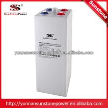 Sunstone OPG series 2v 1000ah gel OPzV Solar battery