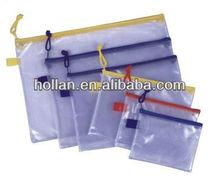 High Quality Clear PVC Zipper Pencil Case
