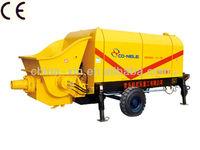 Trailer Concrete Conveying Pump/CE ISO9001