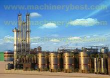 95%-99.9% alcohol (edible or fuel ethanol)distillation equipment(Differential pressure)