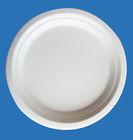 Molded fiber paper plate