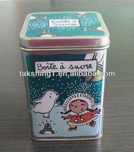 Tin Hinged Lid Tin Box ( Case) Maker