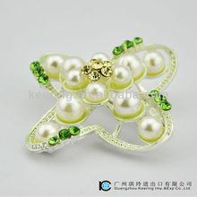 Fashion bulk crystal brooches and hijab pins WBR-1156
