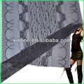 recorte de encaje jacquard tejido de punto spandex tela de malla para el sujetador