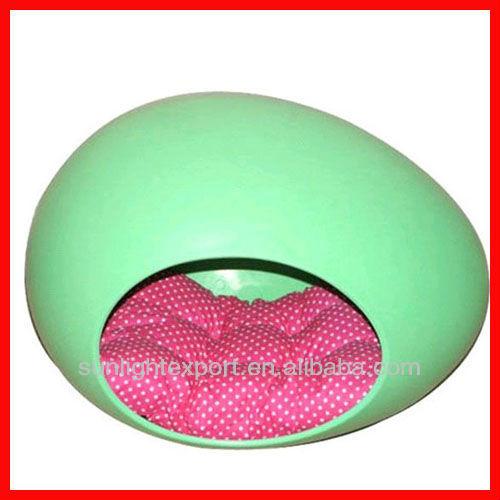 folding round dog bed