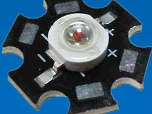 1W yellow high power led ,Good bright spots led diode with pcb